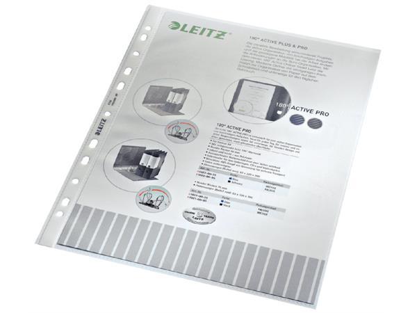Showtas Leitz 4704 11-gaats PP 0.10mm gestructureerd