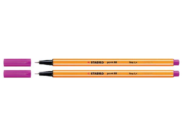 Fineliner Stabilo Point 88/56 roze
