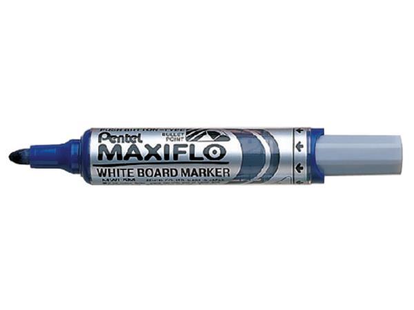 VILTSTIFT PENTEL MWL5 WHITEBOARD MAXIFLO 3MM BLAUW