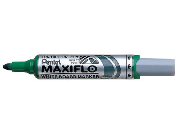 VILTSTIFT PENTEL MWL5 WHITEBOARD MAXIFLO 3MM GROEN