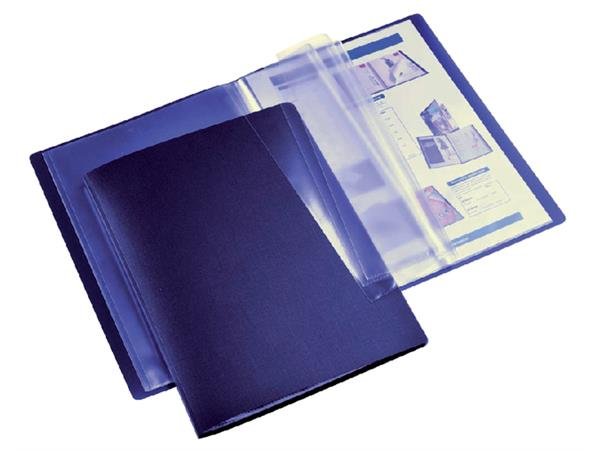 Showmap HF2 flexibel A4 10-tassen donkerblauw