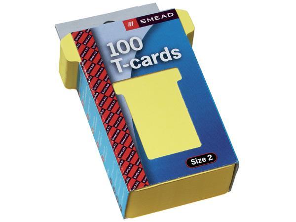 Planbord T-kaart A5548-24 48mm geel
