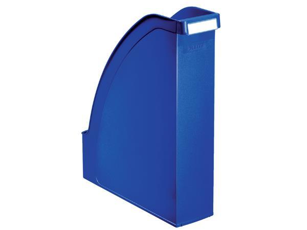 Tijdschriftcassette Leitz Plus blauw