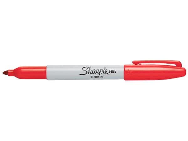 VILTSTIFT SHARPIE ROND 1.0MM F ROOD