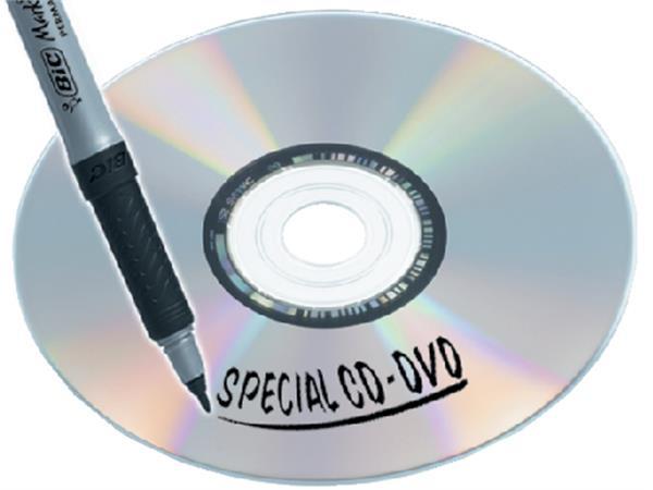 CD MARKER BIC 0.7MM ZEER F ASS