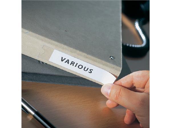 Etikethouder 3L 10310 25x75mm PP zelfklevend