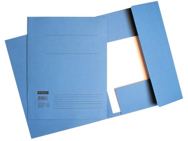 Dossiermap Quantore A4 320gr blauw