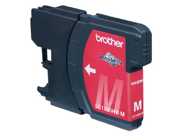 INKCARTRIDGE BROTHER LC-1100 HC ROOD