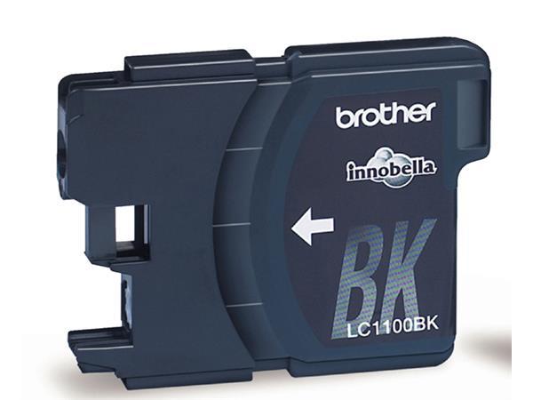 INKCARTRIDGE BROTHER LC-1100 2X ZWART