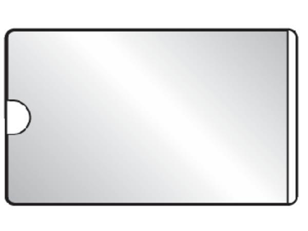 VISITEKAARTTAS 3L 10106 60X95MM ZELFKLEVEND