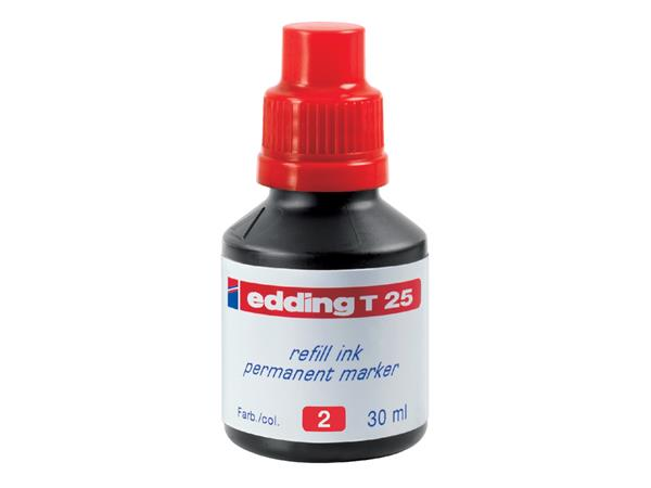 VILTSTIFTINKT EDDING T25 ROOD
