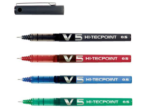 Rollerpen PILOT Hi-Tecpoint V5 blauw 0.3mm