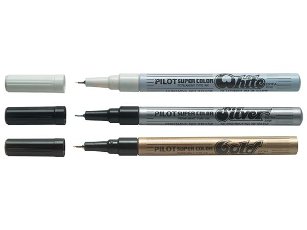 FINELINER PILOT SUPER EF 0.5MM GOUD