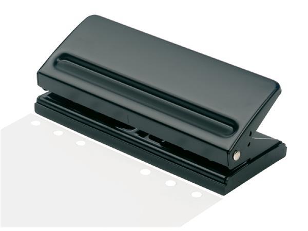 Perforator Organizer A5 6gaats 6vel zwart