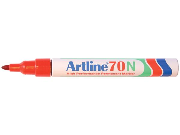 VILTSTIFT ARTLINE 70 ROND 1.5MM ROOD