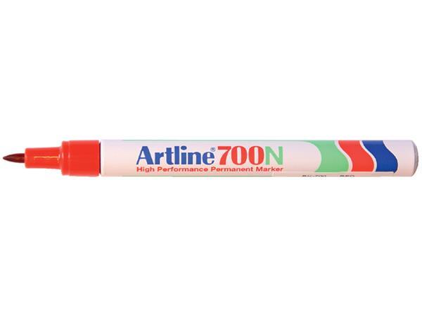 Viltstift Artline 700 rond rood 0.7mm