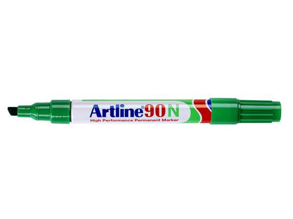 Viltstift Artline 90 schuin groen 2.5mm