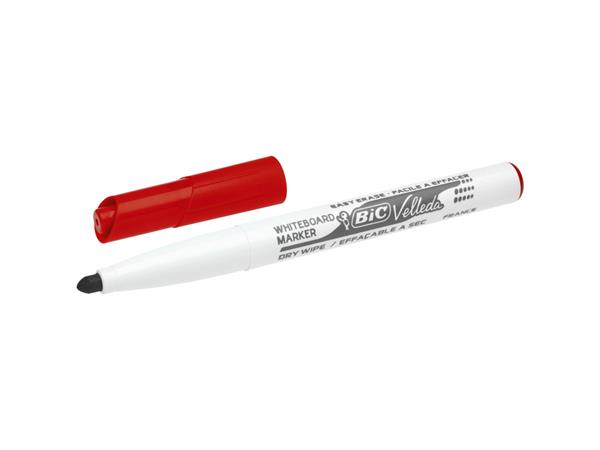 VILTSTIFT BIC 1741 WHITEBOARD ROND 1.4MM ROOD
