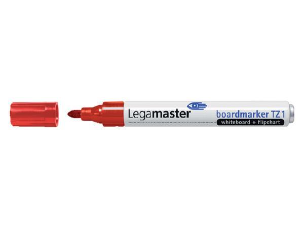 Viltstift Legamaster TZ1 whiteboard rond rood 1.5-3mm