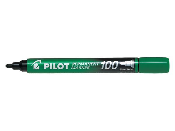 Viltstift PILOT SCA-100-B rond 1mm groen