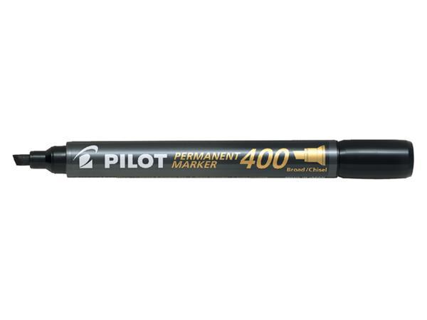 Viltstift PILOT SCA-400-B schuin 4mm zwart