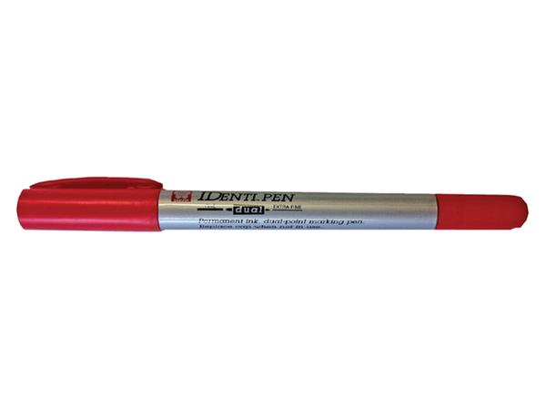 Viltstift Sakura Identi pen rood