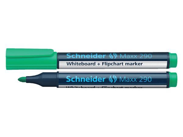 VILTSTIFT SCHNEIDER 290 WHITEBOARD ROND 2-3MM GROEN