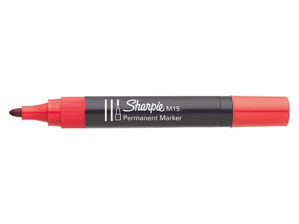 VILTSTIFT SHARPIE M15 ROND 1.8MM ROOD