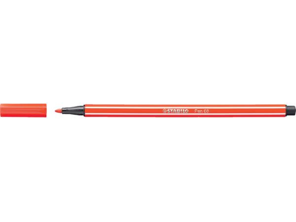 Viltstift STABILO Pen 68/40 lichtrood