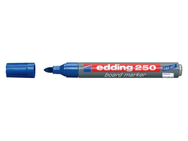 VILTSTIFT EDDING 250 WHITEBOARD ROND 1.5-3MM BLAUW