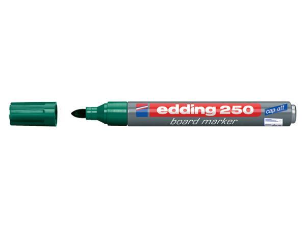 VILTSTIFT EDDING 250 WHITEBOARD ROND 1.5-3MM GROEN