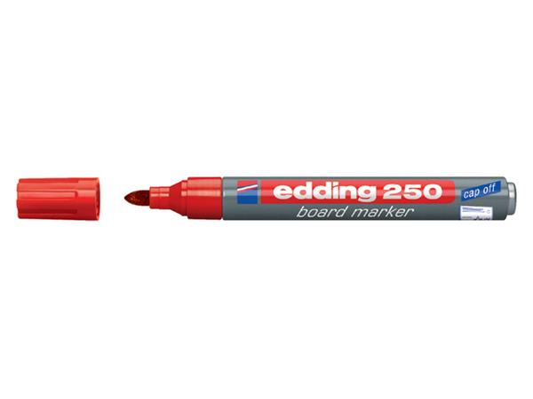 VILTSTIFT EDDING 250 WHITEBOARD ROND 1.5-3MM ROOD