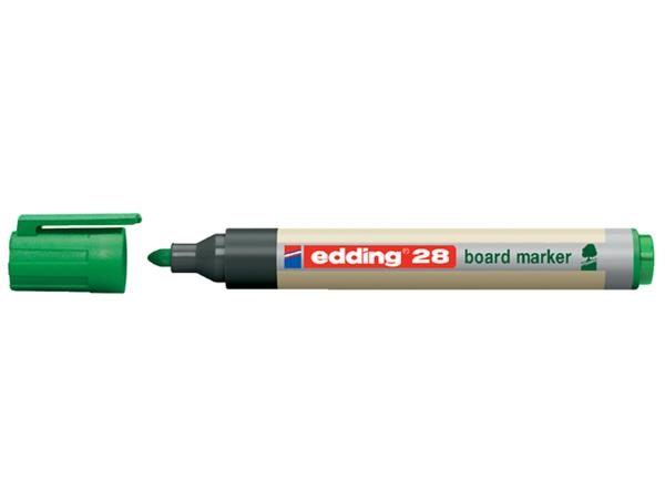 VILTSTIFT EDDING 28 WHITEBOARD ECO ROND 1.5-3MM GN