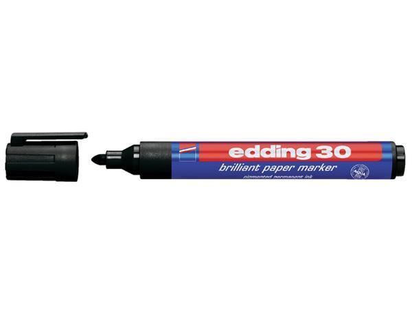 VILTSTIFT EDDING 30 ROND 1.5-3MM BRILLIANT PERM ZW