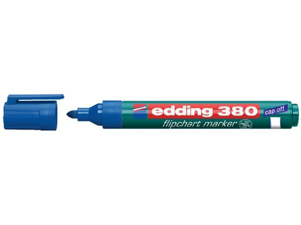 VILTSTIFT EDDING 380 FLIPOVER ROND 1.5-3MM BLAUW