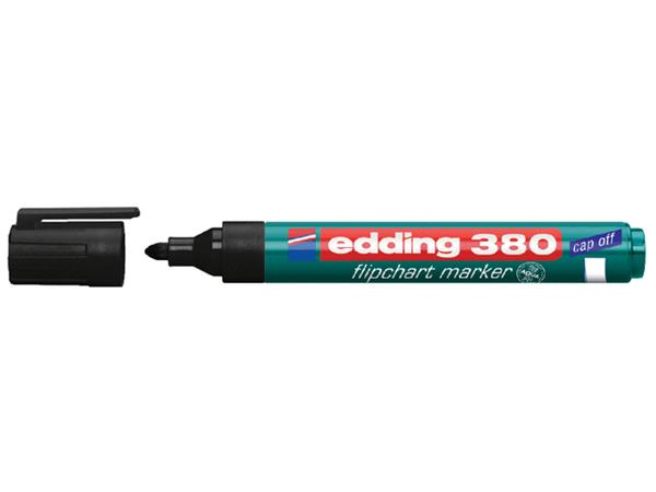 VILTSTIFT EDDING 380 FLIPOVER ROND 1.5-3MM ZWART