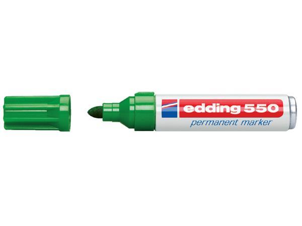 VILTSTIFT EDDING 550 ROND 3-4MM GROEN
