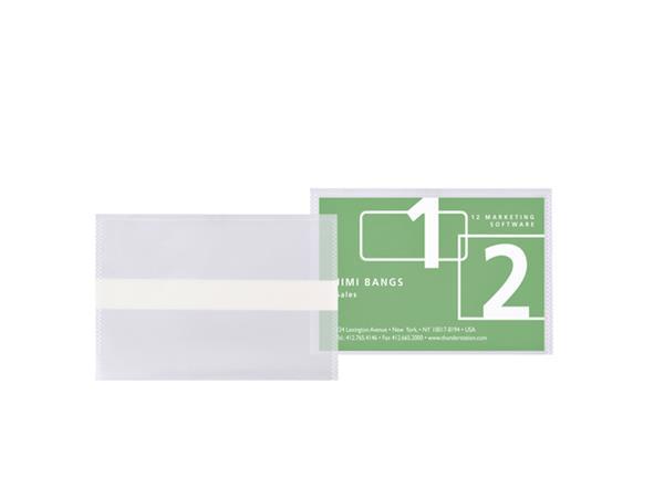SHOWTAS 3L VISITEKRT 95X60MM ZKL BIO DEGRADABLE TR