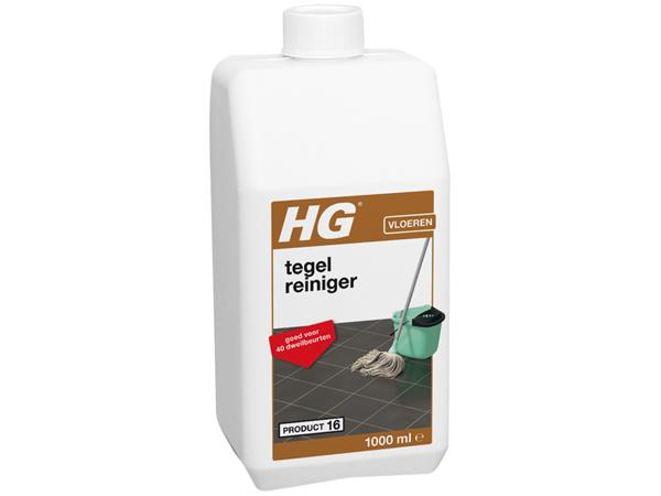 Vloerreiniger HG voor tegelvloeren 1l