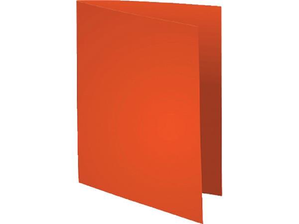 Vouwmap Exacompta Flash A4 80gr oranje