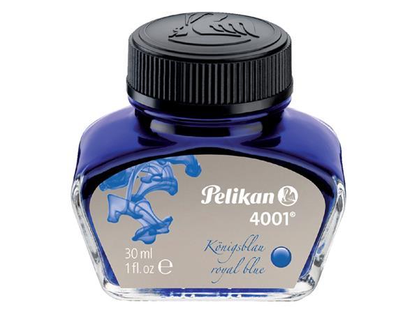 Vulpeninkt Pelikan 4001 30ml koningsblauw