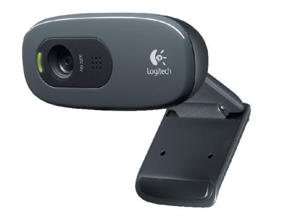 Webcam+Logitech+C270+antraciet