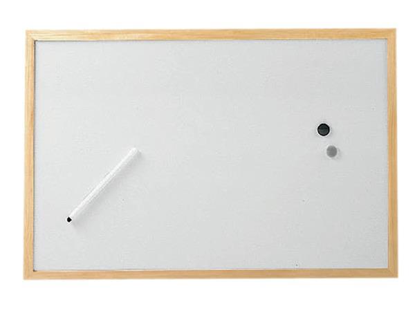 WHITEBOARD+MAUL+30X40CM+FRAME+HOUT