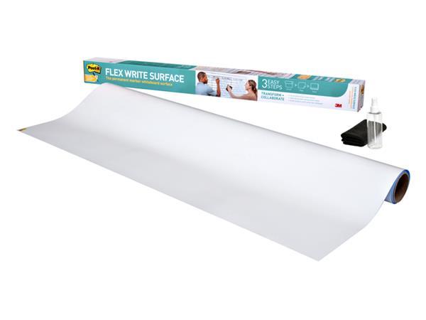 WHITEBOARDFOLIE 3M POST-IT FLEX WRITE SURFACE 91.4X121.9CM W