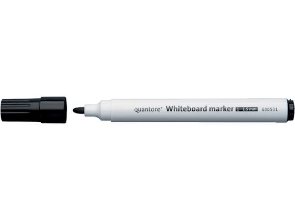 VILTSTIFT QUANTORE WHITEB ROND 1-1.5MM ZWART