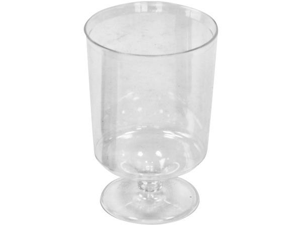 Wijnglas kunststof 170cc 12 stuks