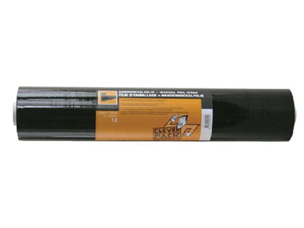 Wikkelfolie CleverPack 500mmx300m 20Mu zwart