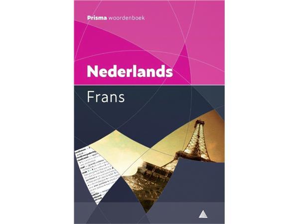 Woordenboek+Prisma+pocket+Nederlands-Frans