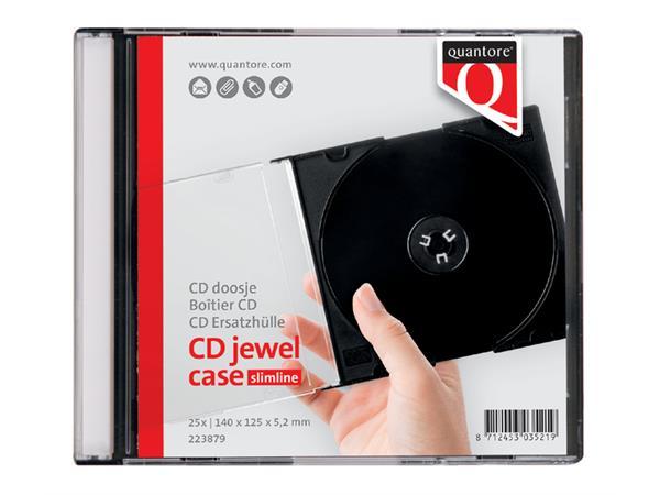CD DOOS QUANTORE LEEG JEWELCASE