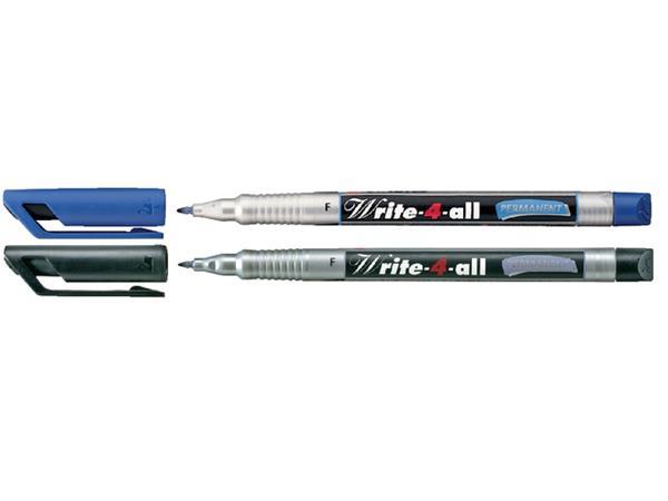 Cd marker Stabilo Write-4-All 156/46 zwart fijn